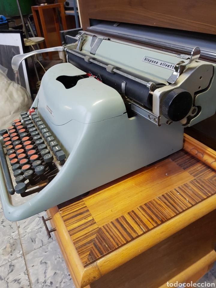 Antigüedades: Máquina de escribir Hispano Olivetti Lexicon 80 - Foto 5 - 122918087