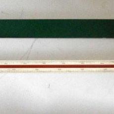 Antigüedades: ESCOLÍMETRO FABER CASTELL 875 CON SU FUNDA ORIGINAL. Lote 122933123
