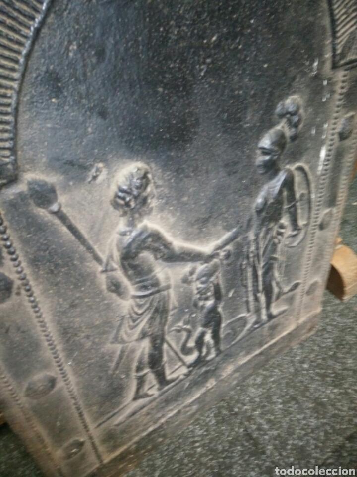 Antigüedades: Chapa de chimenea - Foto 3 - 122968054
