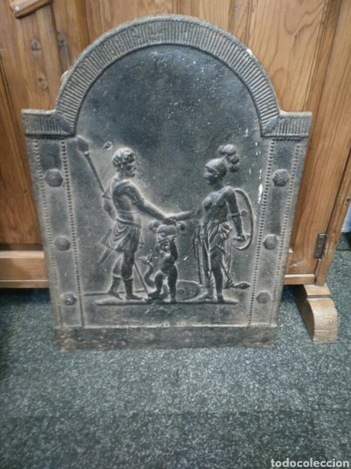 Antigüedades: Chapa de chimenea - Foto 5 - 122968054