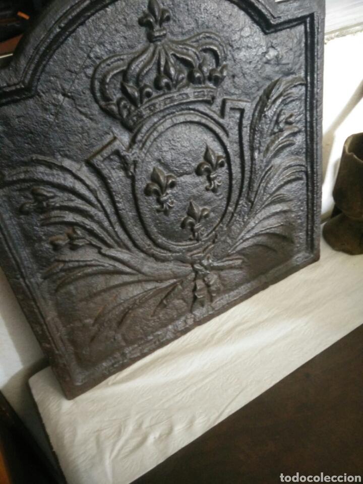 Antigüedades: Chapa de chimenea - Foto 2 - 122969054