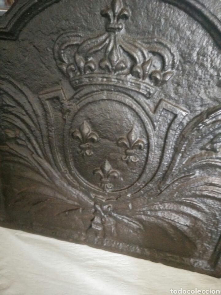 Antigüedades: Chapa de chimenea - Foto 3 - 122969054