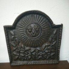 Antigüedades: CHAPA DE CHIMENEA. Lote 122972623