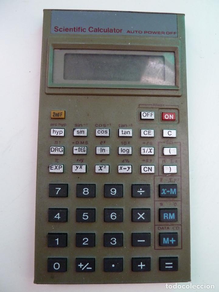 CALCULADORA CIENTIFICA - SCIENTIFIC CALCULATOR (Antigüedades - Técnicas - Aparatos de Cálculo - Calculadoras Antiguas)