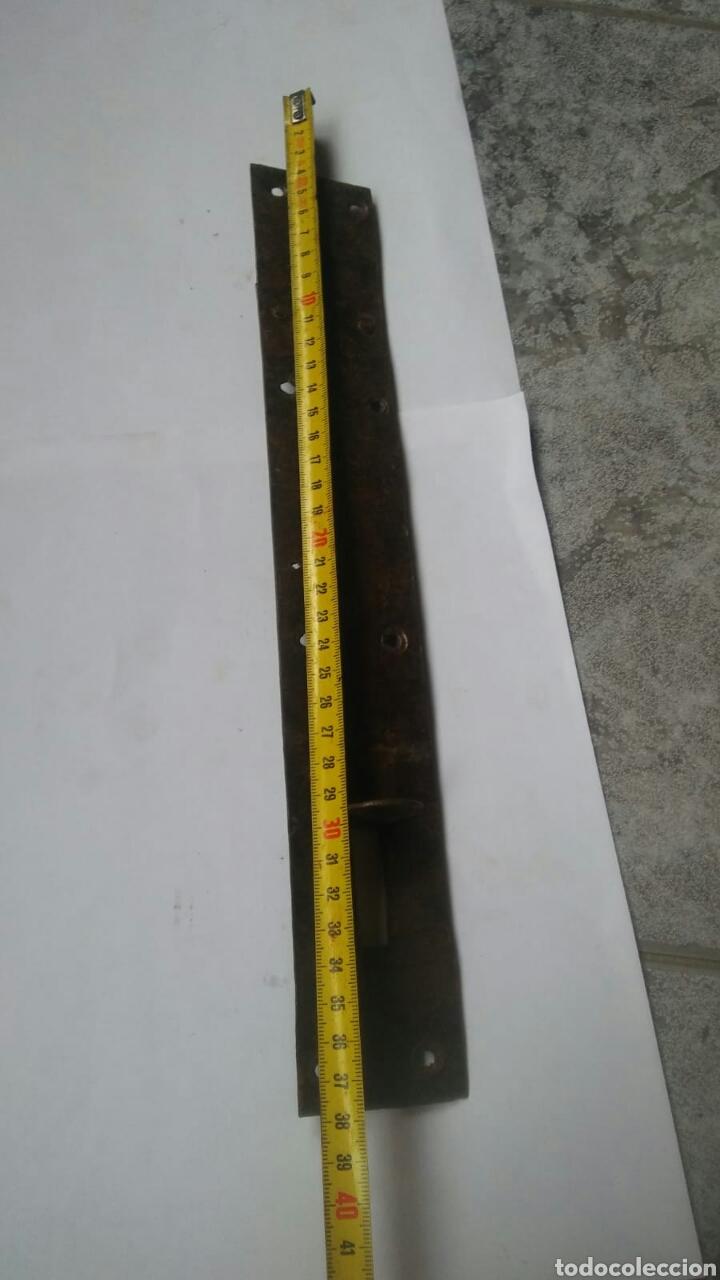 Antigüedades: GRAN PASADOR PESTILLO 38cm - Foto 6 - 123019655