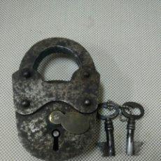 Antigüedades: ANTIGUO CANDADO. Lote 123023144