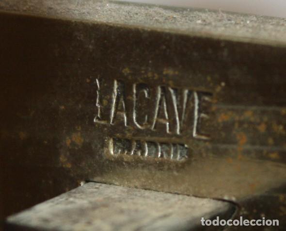 Antigüedades: IMPORTANTE BALANZA DE LA PRESTIGIOSA CASA MADRILEÑA LACAVE. PRINCIPIOS DEL SIGLO XX - Foto 14 - 123105631