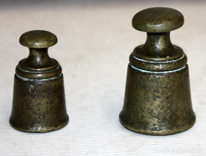 Antigüedades: IMPORTANTE BALANZA DE LA PRESTIGIOSA CASA MADRILEÑA LACAVE. PRINCIPIOS DEL SIGLO XX - Foto 15 - 123105631