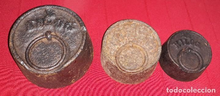 JUEGO DE PESAS (Antigüedades - Técnicas - Medidas de Peso Antiguas - Otras)