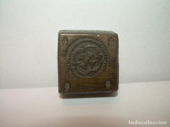 Antigüedades: ANTIGUO PONDERAL DE BRONCE. - Foto 2 - 130992452