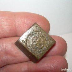 Antigüedades: ANTIGUO PONDERAL DE BRONCE.. Lote 123228915