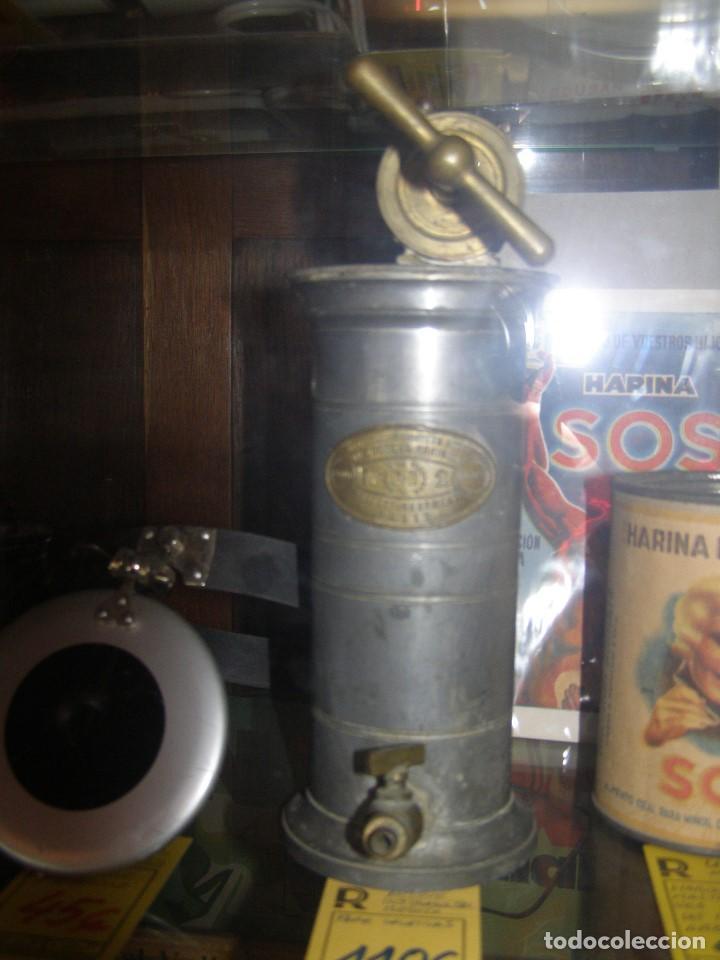 Antigüedades: Antiguo aparato médico. Irrigador Vaginal. Francia, SXIX. - Foto 6 - 115391731