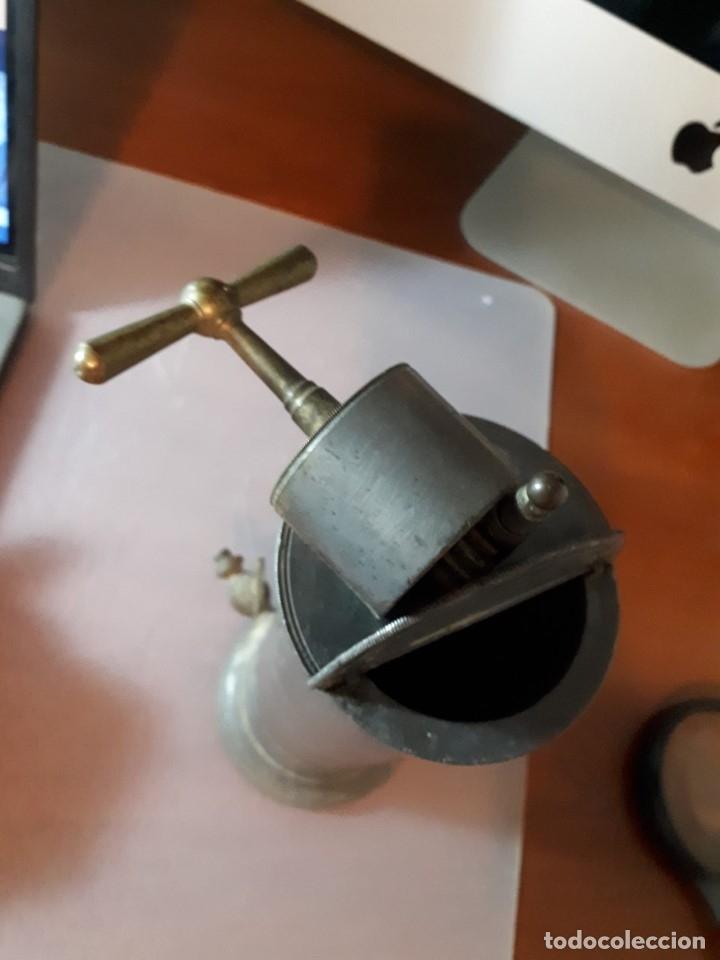 Antigüedades: Antiguo aparato médico. Irrigador Vaginal. Francia, SXIX. - Foto 7 - 115391731
