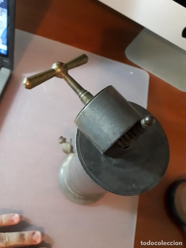 Antigüedades: Antiguo aparato médico. Irrigador Vaginal. Francia, SXIX. - Foto 8 - 115391731