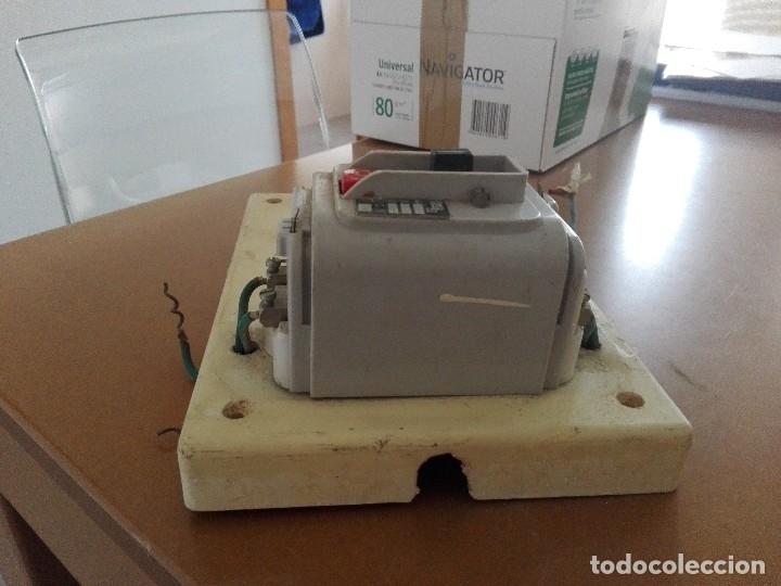 Antigüedades: Magnetotérmico antiguo bjc - Foto 3 - 123530651