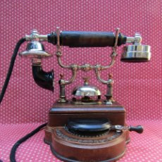 Teléfonos: TELEFONO CENTRALITA DE 20 LINEAS INTERNAS, DE LA MARCA L. M. ERICSSON (SUECIA).. Lote 123660747