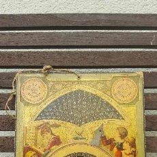 Antigüedades: EL PEQUEÑO CONTADOR (CALCULADORA) DE CARTÓN. Lote 124030711
