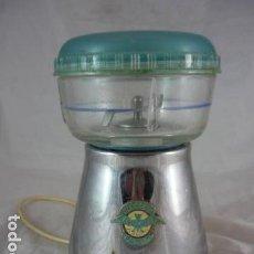 Antigüedades: BERRENS PATENT - MOLINILLO CAFE - TIPO A Nº8523 - 125V - CRISTAL - FUNCIONA. Lote 124035771