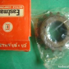 Antigüedades: EASTMAN ENGRANAJE PIÑON 16 DIENTES X 1/8 X 1/2 EASTMAN CASSETTE TEETH BICYCLE. Lote 124175767