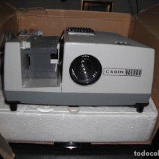 Antigüedades: PROYECTOR DE DIAPOSITIVAS MARCA CABIN 2000 R - FUNCIONANDO PERFECTO ESTADO. Lote 124186907