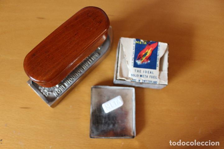 Antigüedades: Plancha de tocador y viaje, años veinte, art decò, inglesa - Foto 2 - 124218071