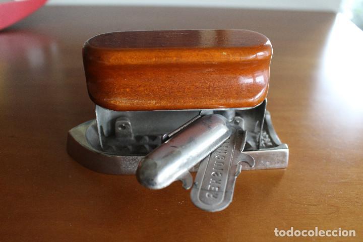 Antigüedades: Plancha de tocador y viaje, años veinte, art decò, inglesa - Foto 4 - 124218071