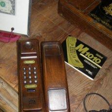 Teléfonos: ANTIGUO TELÉFONO SOLAC M1010. EN MADERA. AÑOS 70S. Lote 124222403