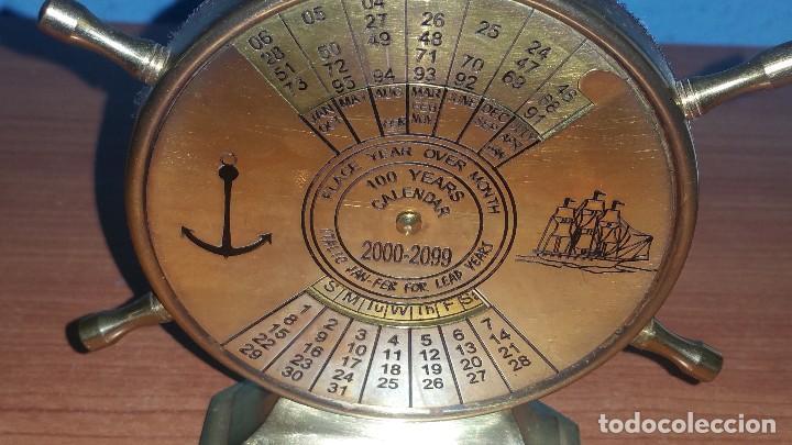 Calendario Del 2000.Calendario Naval Perpetuo En Bronce Del 2000 Al Sold At