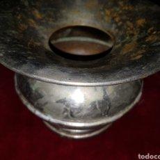 Antigüedades: ANTIGUA ESCUPIDERA LATON DE DENTISTA.. Lote 124285576