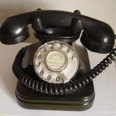 Teléfonos: TELÉFONO VINTAGE: TELEFÓNICA. BAQUELITA. 1960'S. ORIGINAL. COLECCIONISTA.. Lote 124418419