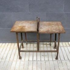 Antigüedades: BALANZA O BASCULA DE HIERRO.. Lote 124446431