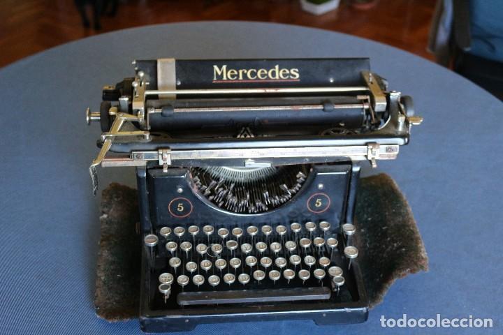 MÁQUINA DE ESCRIBIR (Antigüedades - Técnicas - Máquinas de Escribir Antiguas - Mercedes)