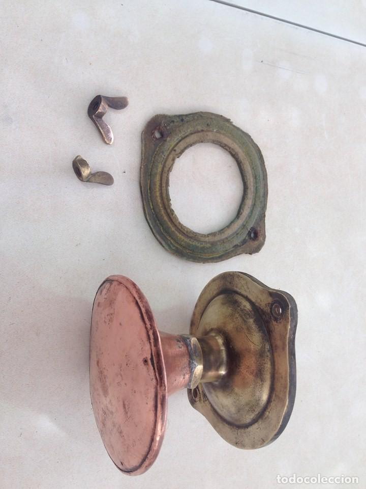 Antigüedades: antigua estufa hierro con calderin en cobre y bronce Baño de vapor, agua caliente s. XIX - Foto 10 - 124516979