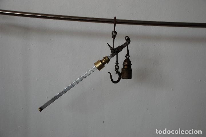 BALANZA ROMANA ANTIGUA (Antigüedades - Técnicas - Medidas de Peso - Romanas Antiguas)