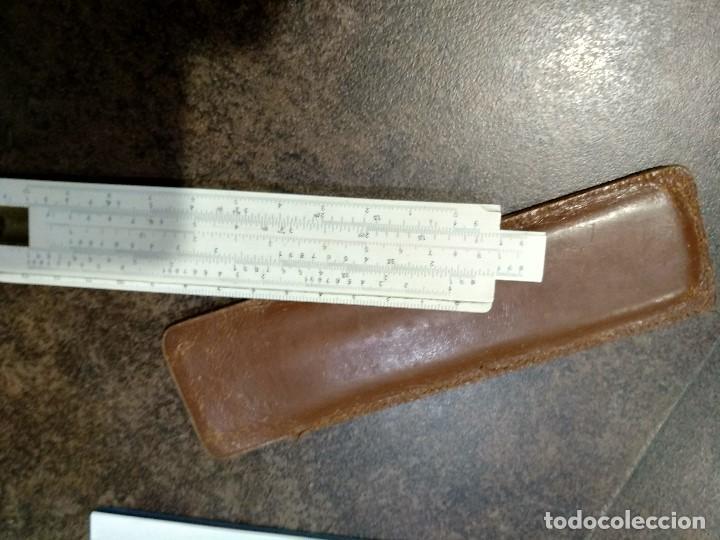 REGLA DE CÁLCULO DANESA DIVA (Antigüedades - Técnicas - Aparatos de Cálculo - Reglas de Cálculo Antiguas)