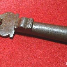 Antigüedades: LLAMADOR SIGLO XIX , ALDABA, HIERO FORJA FORJADO. Lote 124608175