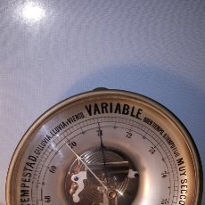 Antigüedades: CURIOSO BARÓMETRO CIRCULAR. Lote 124667990