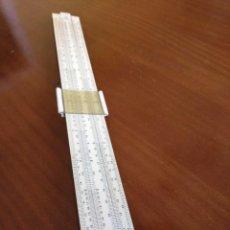 Antigüedades: ANTIGUA REGLA DE CALCULO UNIQUE LOG LOG SLIDE RULE MADE IN ENGLAND CALCULADORA KEISANJYAKU. Lote 124863483