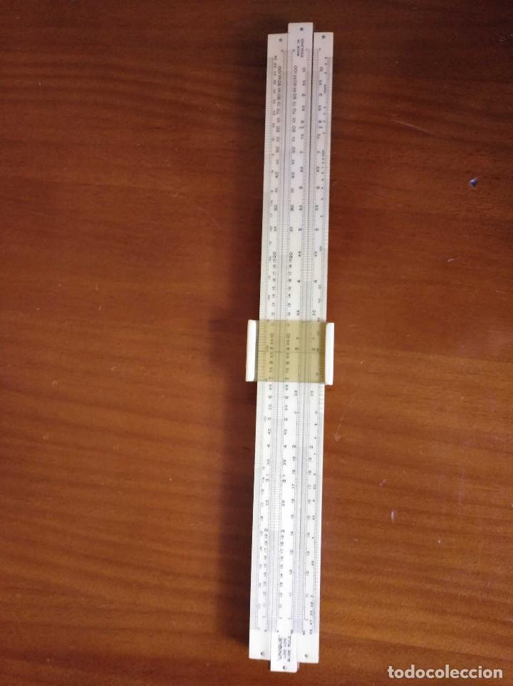Antigüedades: ANTIGUA REGLA DE CALCULO UNIQUE LOG LOG SLIDE RULE MADE IN ENGLAND CALCULADORA KEISANJYAKU - Foto 22 - 124863483