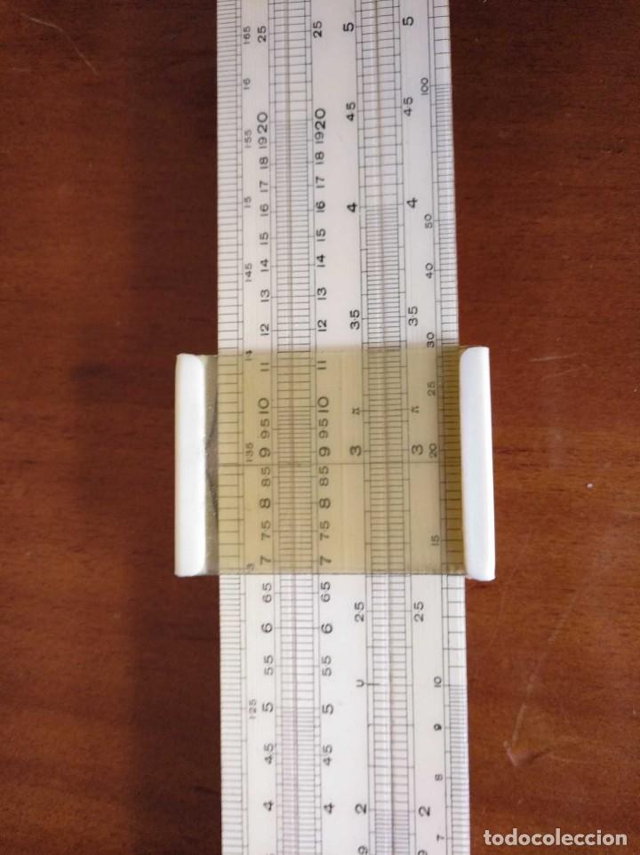 Antigüedades: ANTIGUA REGLA DE CALCULO UNIQUE LOG LOG SLIDE RULE MADE IN ENGLAND CALCULADORA KEISANJYAKU - Foto 24 - 124863483