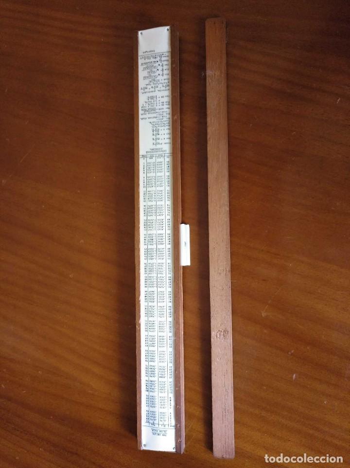 Antigüedades: ANTIGUA REGLA DE CALCULO UNIQUE LOG LOG SLIDE RULE MADE IN ENGLAND CALCULADORA KEISANJYAKU - Foto 29 - 124863483