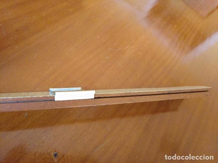 Antigüedades: ANTIGUA REGLA DE CALCULO UNIQUE LOG LOG SLIDE RULE MADE IN ENGLAND CALCULADORA KEISANJYAKU - Foto 30 - 124863483