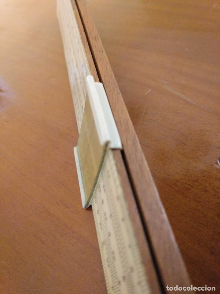 Antigüedades: ANTIGUA REGLA DE CALCULO UNIQUE LOG LOG SLIDE RULE MADE IN ENGLAND CALCULADORA KEISANJYAKU - Foto 31 - 124863483