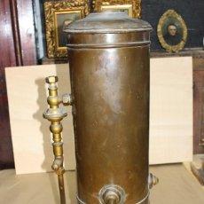 Antigüedades: CALENTADOR DE AGUA SIGLO XIX. . Lote 124969515