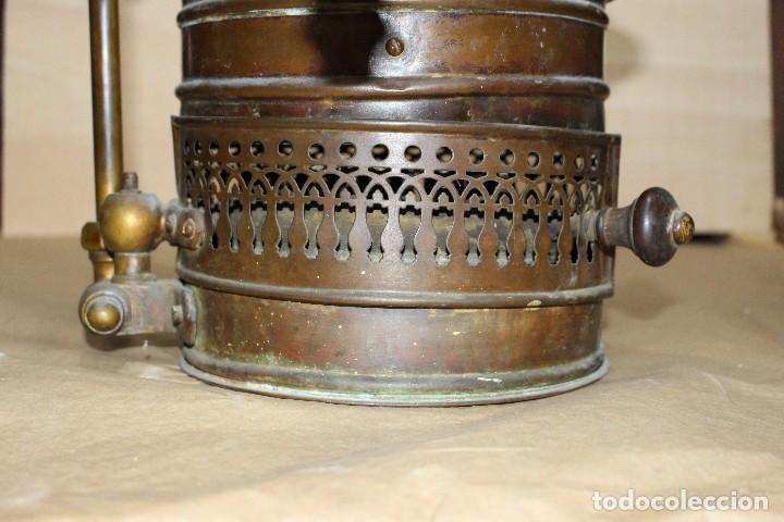 Antigüedades: Calentador de agua siglo XIX. - Foto 2 - 124969515