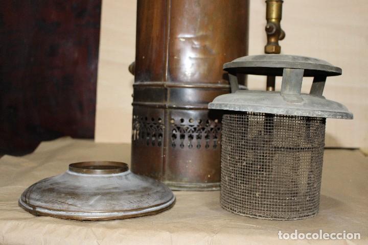Antigüedades: Calentador de agua siglo XIX. - Foto 13 - 124969515