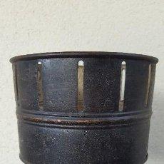 Antigüedades: ZOOTROPO EN METAL Y MADERA EN MUY BUEN ESTADO. Lote 124984583