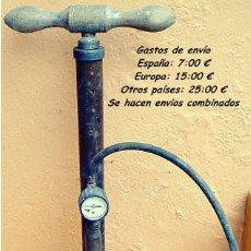 Antigüedades: ANTIGUA BOMBA DE AIRE MARCA G COSTAL PAT 200313 EN BUEN ESTADO Y FUNCIONANDO. Lote 116917067