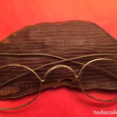 Antigüedades: GAFAS ANTEOJOS QUEVEDO SIGLO XIX, OPTICO FRANCES FIRMIN VIBO. Lote 125110323