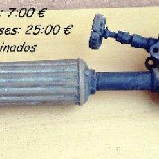 Antigüedades: ANTIGUO Y RARO SOPLETE MAX SIEVERT MODELO 294 AÑOS 60 A RESTAURAR. Lote 116916671
